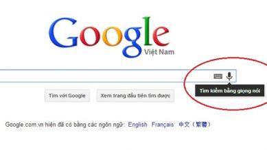 Trải nghiệm tính năng Voice Search của Google