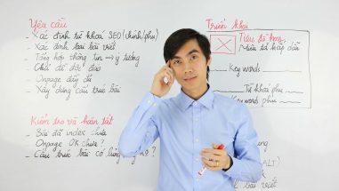 VietMoz hướng dẫn cách viết bài chuẩn SEO
