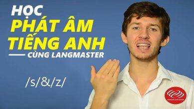 Cách đọc s z trong tiếng Anh