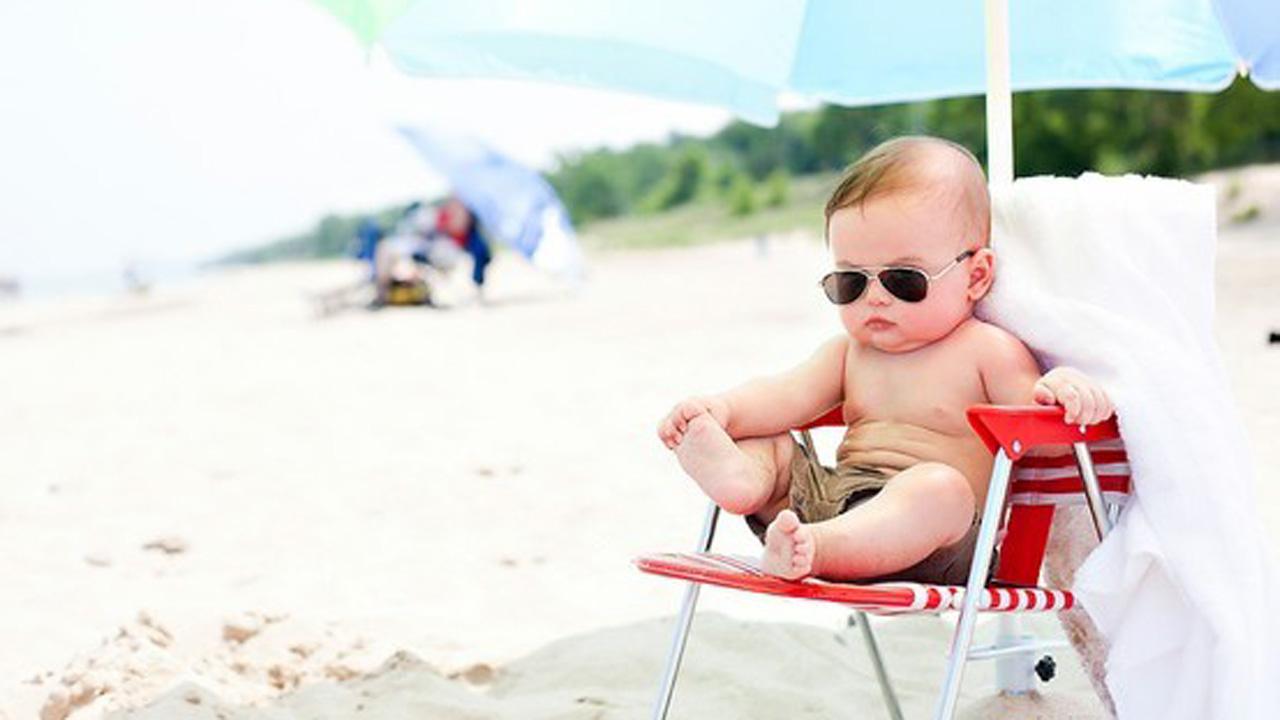 Chăm sóc trẻ mùa nóng đúng cách để trẻ luôn khỏe mạnh
