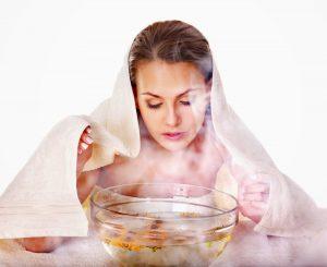 phương pháp xông và uống giúp giải cảm lạnh